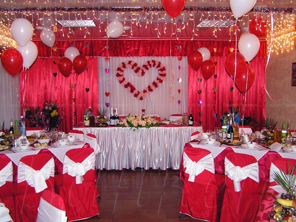 Как украсить ресторан для свадьбы своими руками