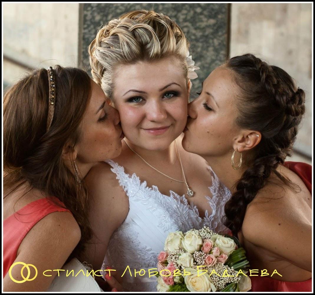 Прическа для подружки невесты на средние волосы фото своими руками