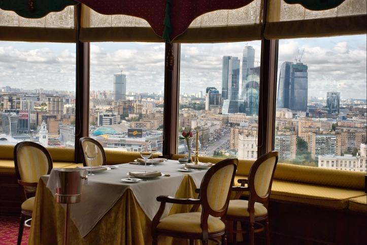 ресторан панорама тверь фото