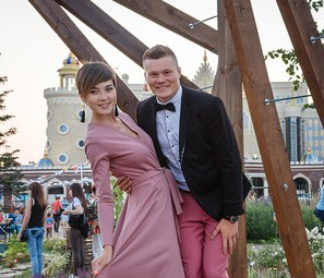 Александр и Оксана Семёновы