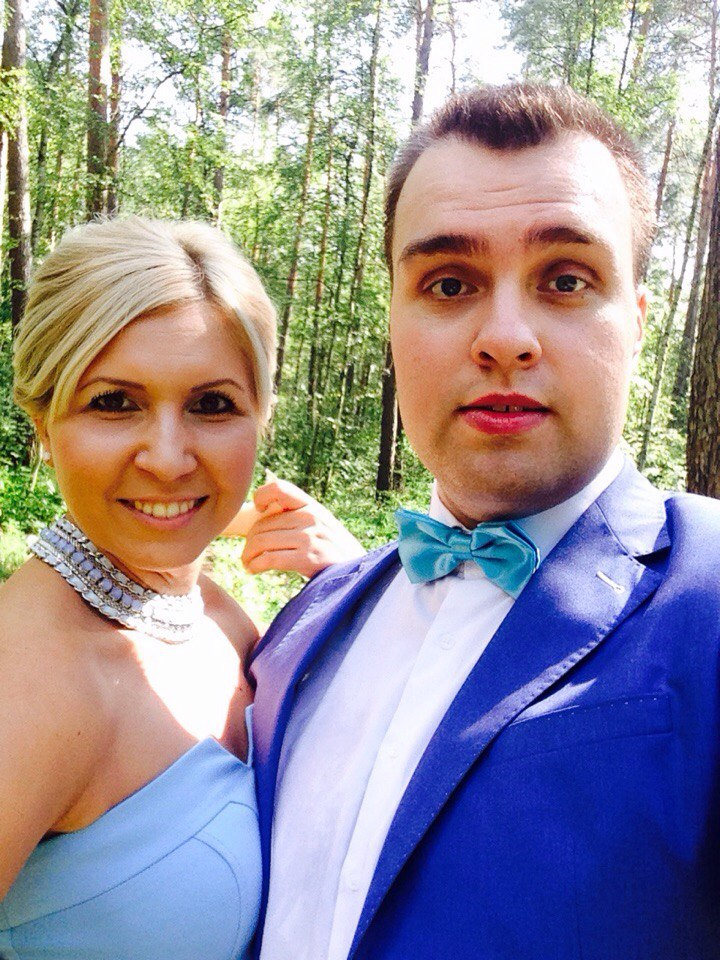 Денис и Елена Алехины
