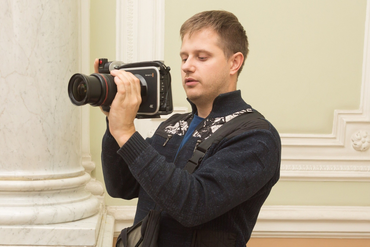 Фотограф и видеограф Александр Дядюра