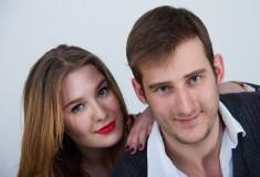 Илья Лукашенко и Алиса Фельдштейн
